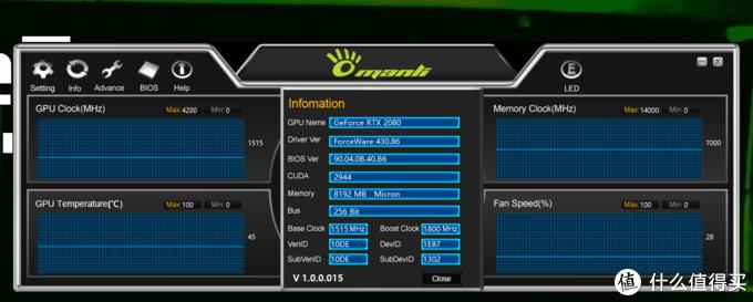 万丽发布显卡超频软件,超频、LED、刷BIOS三位一体,功能强悍!
