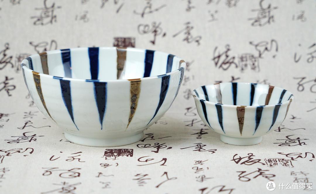 器以悦己,食以悦人:AITO Kusa 三峰 系列 蓝十草 美浓烧 餐具6件套