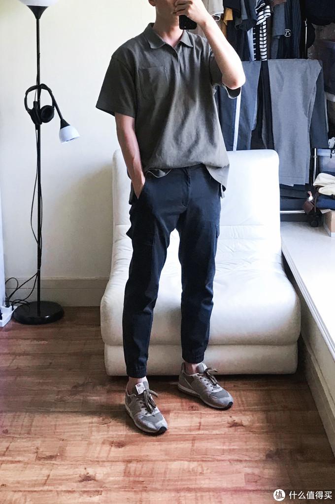 Look 6 (优衣库工装束脚裤 / NB996)