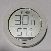 米家 蓝牙温湿度计开箱晒物(外壳|旋钮|电池仓)