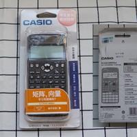 卡西欧FX-991CN 科学函数计算器外观展示(按键|保护壳|厚度|充电板)