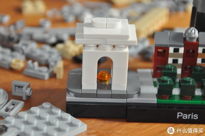 LEGO 21044 建筑系列 Paris 巴黎 天际线