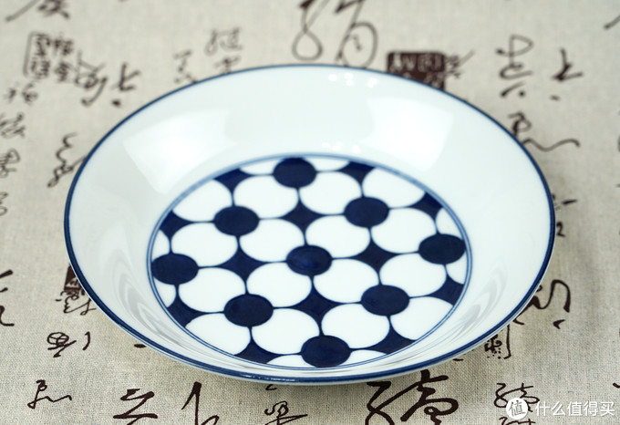 淡雅花语,蓝色夏天:AITO HANACOMON 小花纹 餐碟礼盒5件套