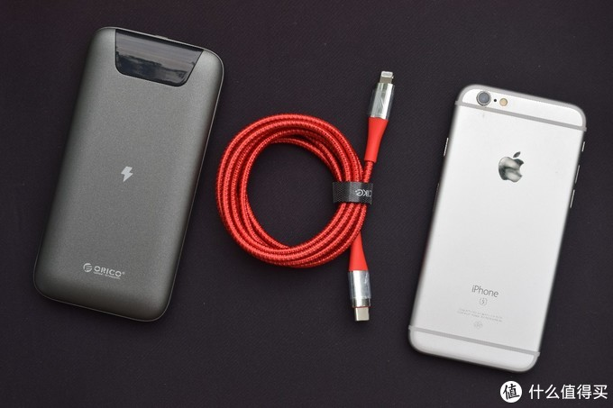 做工出色、耐磨耐弯折,cike小红线 USB-C to Lightning苹果快充线体验点评