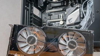 影驰 GeForce RTX 2070 显卡装机过程(风扇 外壳 供电线 背板)
