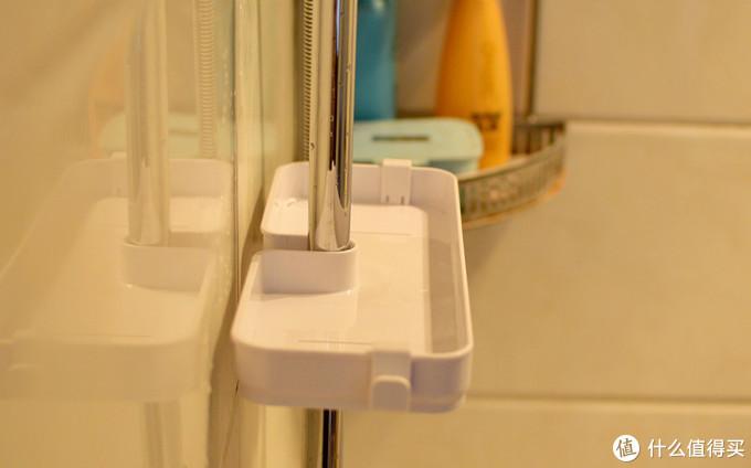 小米新品:59元DIY浴室置物架,好用的不得了