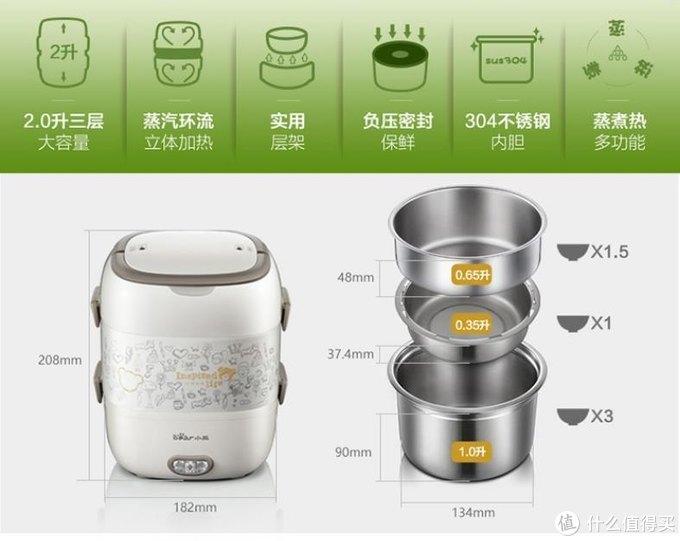 微波炉热饭不健康!小熊电热饭盒帮你解决这一问题。