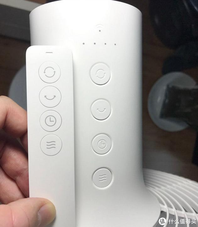 ZRFFS01ZM的控制按键和实体遥控器