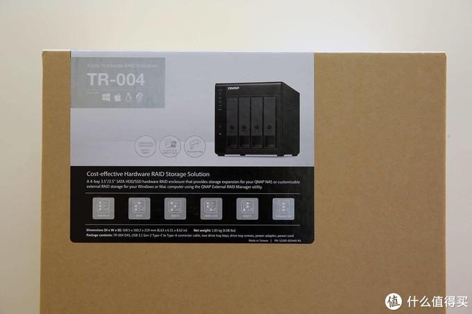 专治硬盘空间紧迫症 威联通TR-004四盘位RAID外接盒评测