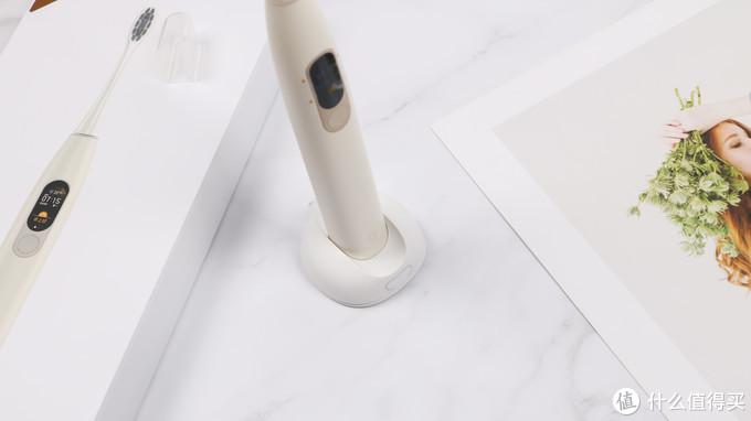 萌新亮白,欧可林 Oclean X 彩色 触屏智能 电动牙刷 初体验