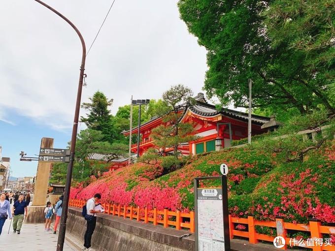 路过八坂神社,但并没有进去看