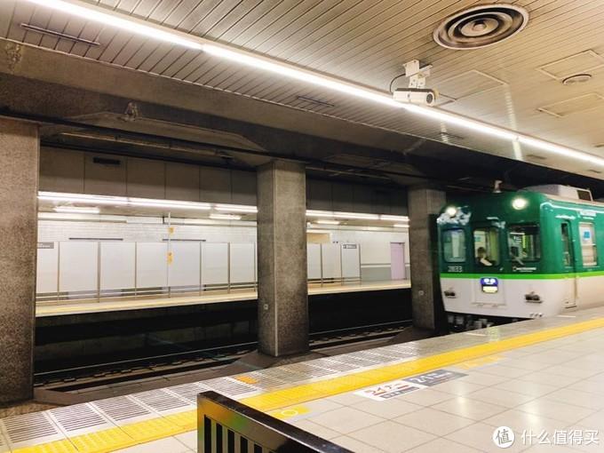 在三条还不是四条乘坐地铁前往三十三间堂