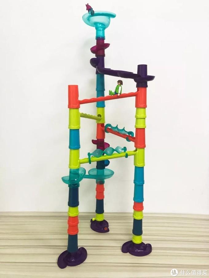 毛爸聊玩具:好玩具都在家吃灰,滚珠轨道到底该怎么玩?