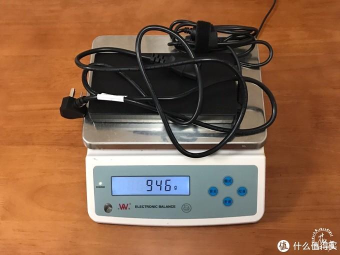 电源线和适配器共重1KG左右