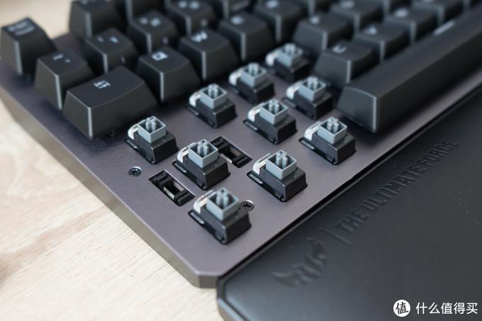 可以共浴的光轴游戏键盘,华硕TUF GAMING K7入手体验