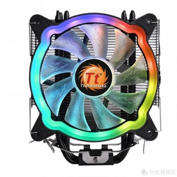 超薄全黑、RGB幻彩:Thermaltake 曜越 发布 UX200 ARGB 散热器