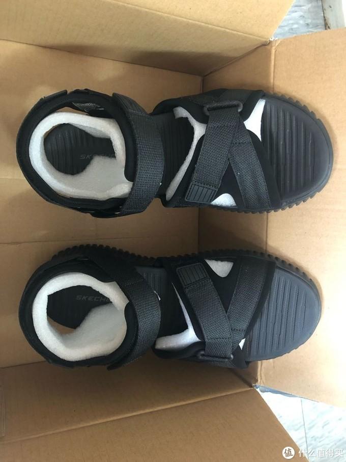 夏天是凉鞋的季节…斯凯奇沙滩凉鞋51722