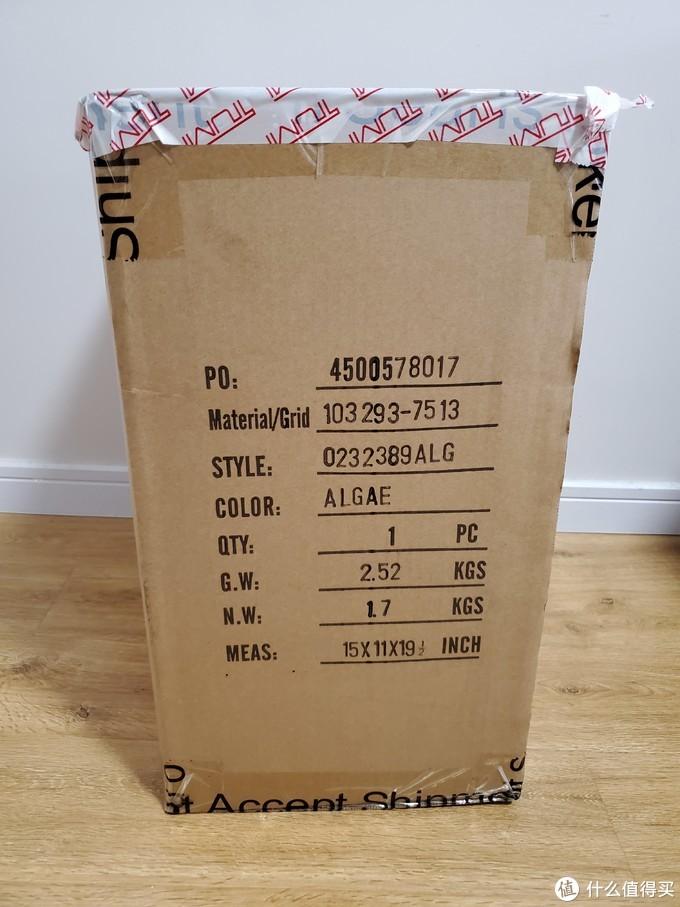规格型号都在包装箱一侧