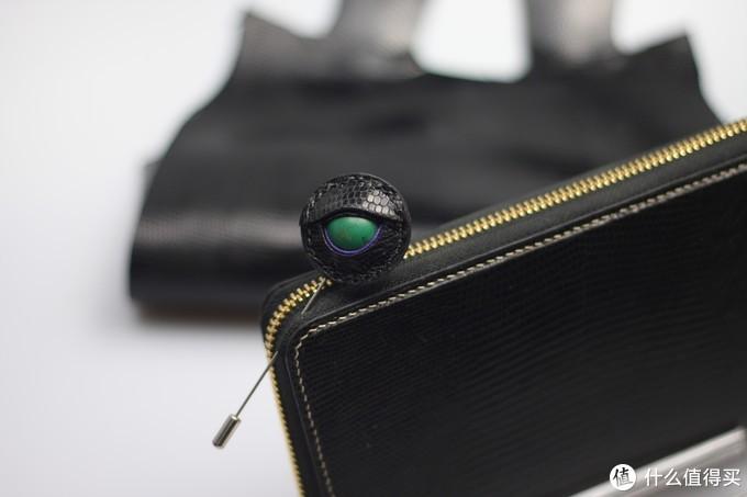 皮料的边边角角也能大放异彩——蜥蜴之眼