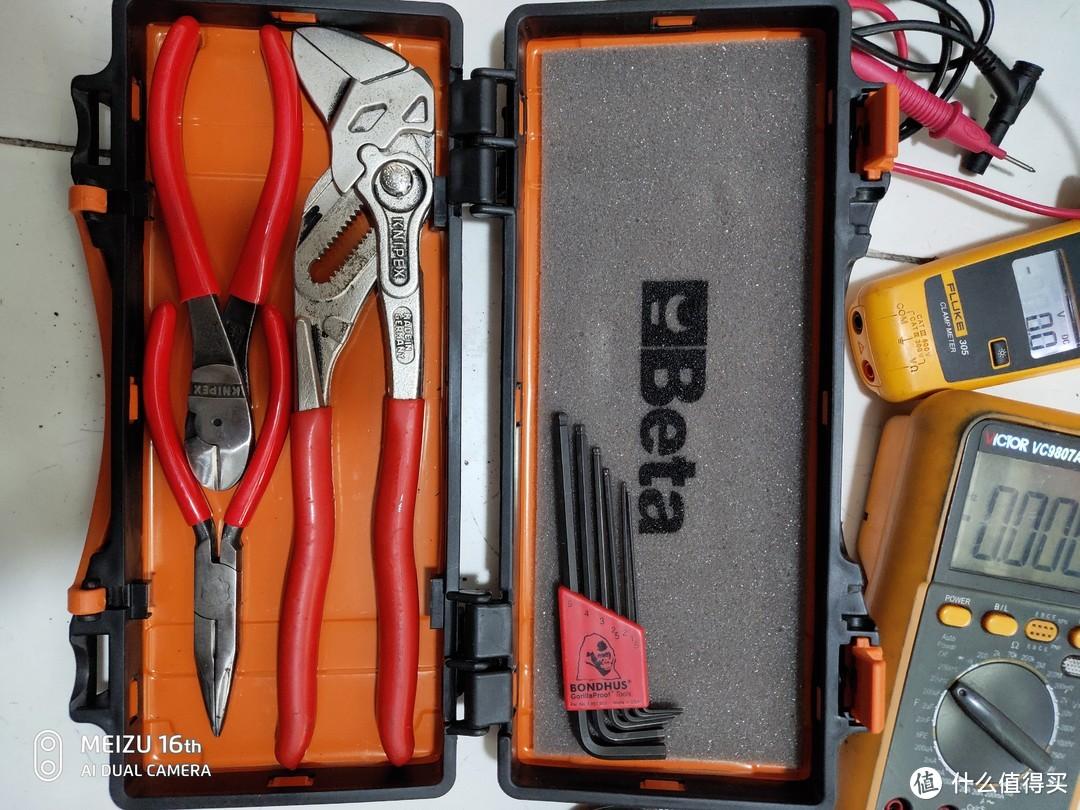 借着618买了一套钳子的时候聊聊我自己的常用手动工具们