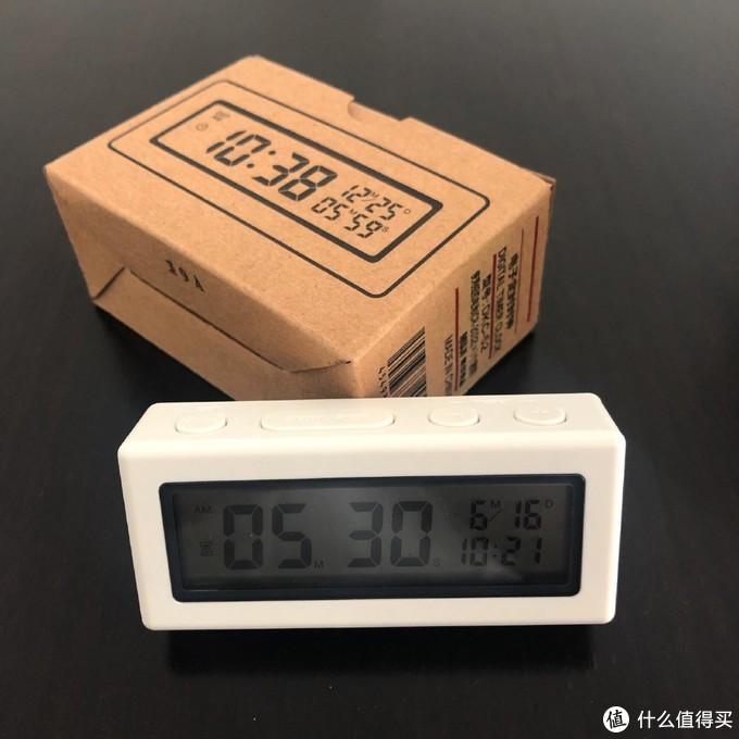 MUJI 电子定时时钟开箱晒物