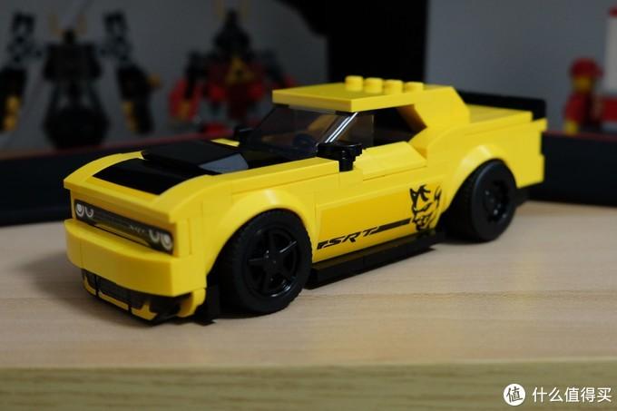 肌肉车的速度与激情——LEGO 乐高 超级赛车系列 2018道奇挑战者 SRT DEMON VS 1970道奇战马 R/T