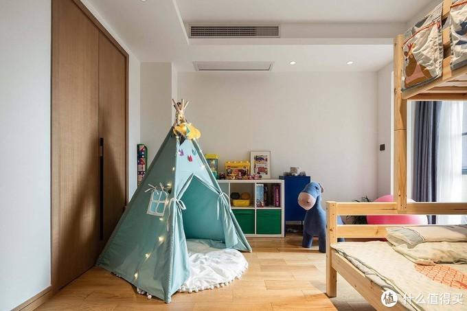 独立的收纳空间,也是从小培养好习惯的关键