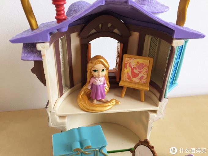 玩具测评丨Disney迪士尼魔发奇缘公主小屋
