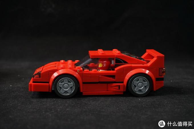 乐高 SPEED CHAMPIONS 超级赛车系列 75890 法拉利F40 Competizione