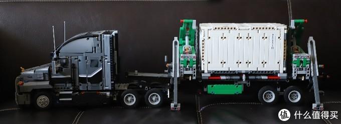 LEGO 42078 Mack Anthem 这是一台特别占地方的卡车