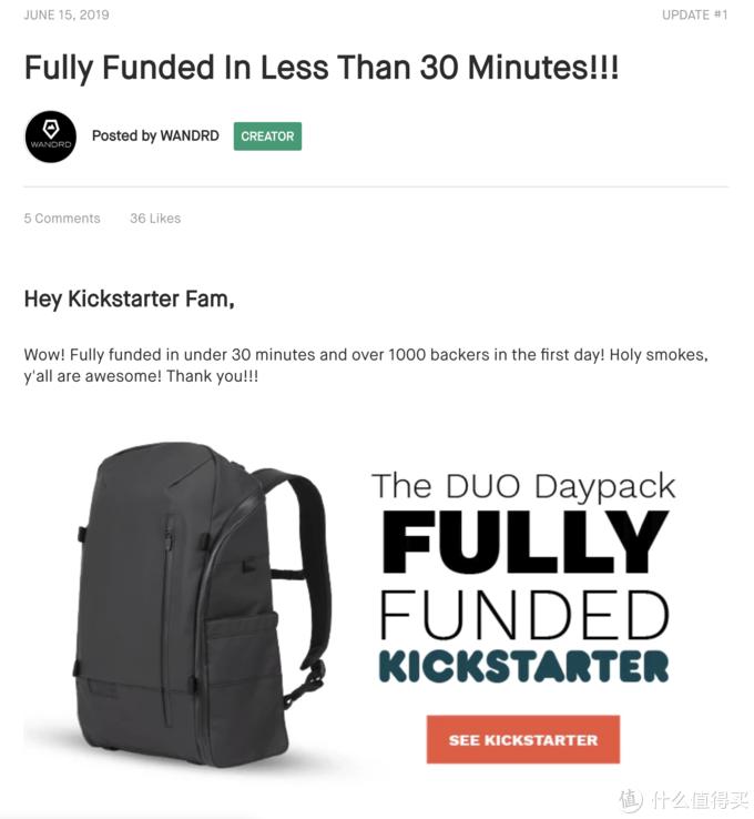这款摄影背包在Kickstarter上线30分钟即众筹成功,真有那么香?