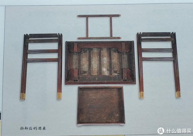 明式家具的可拆卸桌腿设计。图片出自王世襄《明式家具研究》