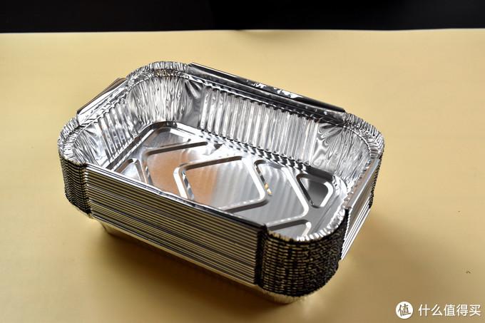 618好白菜-虹佳 锡纸盒 长方形 400ml 20只 开箱简评