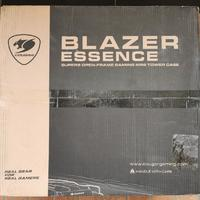骨伽 BLAZER ESSENCE 机箱外观展示(本体 按钮 接口)