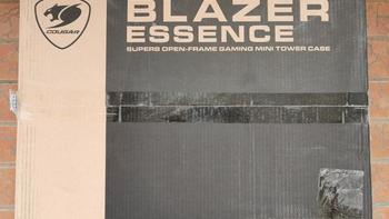 骨伽 BLAZER ESSENCE 机箱外观展示(本体|按钮|接口)