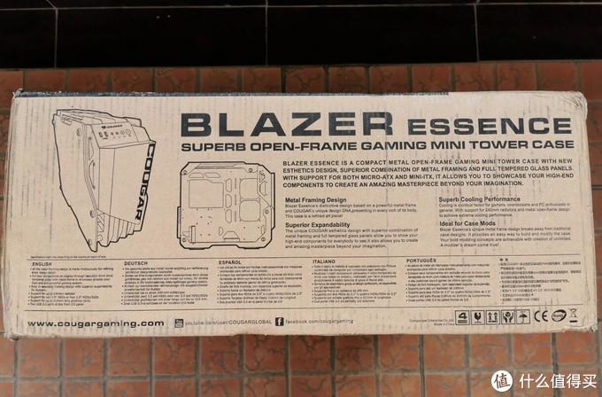 骨伽 BLAZER ESSENCE 机箱 简单开箱
