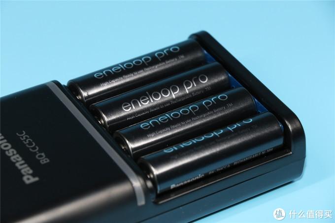 eneloop pro:套装内的是高容量eneloop充电电池