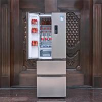 美的320L四门三温冰箱使用体验(空间|操控|保鲜|噪音|能效)
