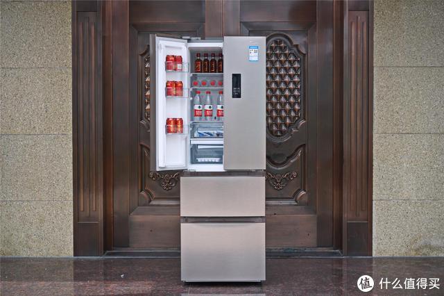 小空间大设计:美的320L四门三温冰箱使用评测