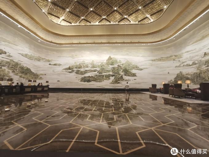 万达文华酒店前台