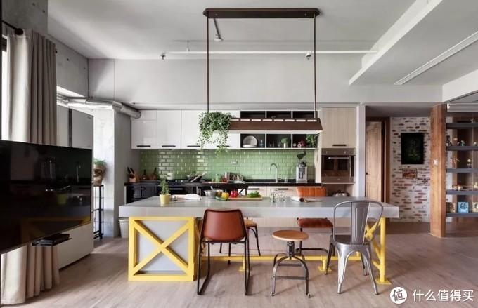 别人家网红店,你家出租屋:快来看看13个美轮美奂的厨房设计方案