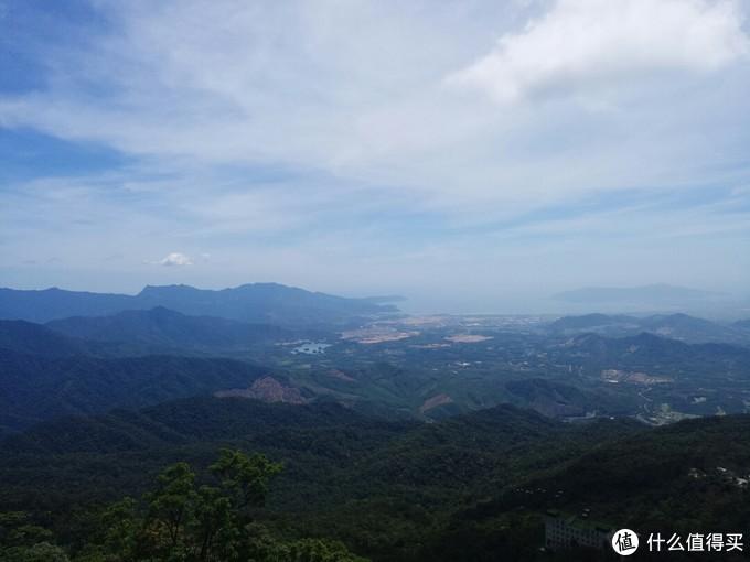 可以俯瞰整个岘港