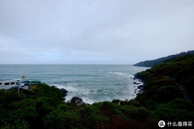 南岛南部海岸线