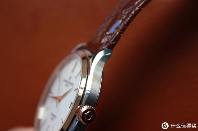 简洁、儒雅、大方——名士10401腕表上手简评