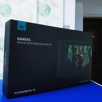 绘王Kamvas Pro 16数位屏开箱展示(功能键|接口|线材|数位笔|支架)