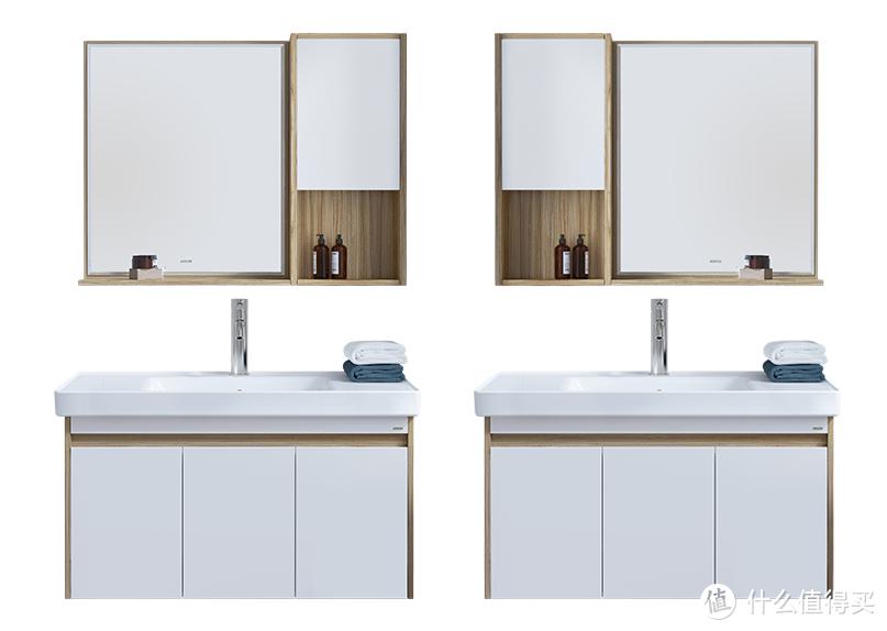 安利一款有颜值有实力性价比超高的浴室柜~还是实木的哇