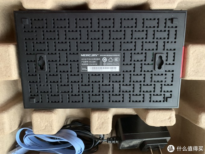 小巧可用的家用交换机 二手SG116M千兆16口交换机
