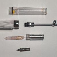 永生 3013钢笔外观图片(活塞|笔握|笔尖|笔帽|笔杆)