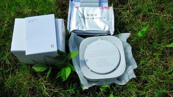 米家驱蚊器智能版开箱晒物(主体 驱蚊片 电池 开关 指示灯)