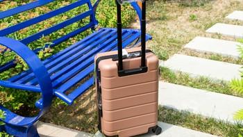 小米旅行箱 20寸 布朗熊限量版开箱晒物(拉链|提手|万向轮|拉杆|密码锁)